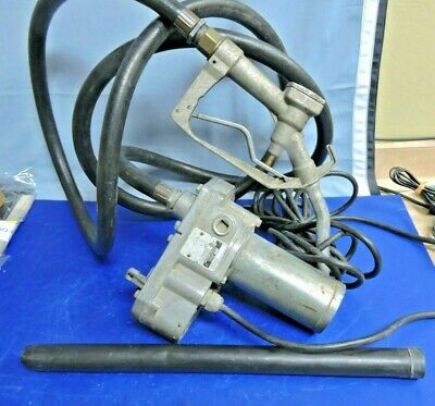 Gpi 150s Powered Fuel Transfer Pump With Manual Nozzle Gun Hose 15 Gpm Works