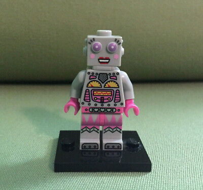 LEGO Minifigure Series 11 Lady Robot Female Clockwork Robot Mech Toy Christmas