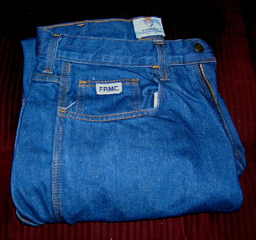 Mens Tyndale FR Flame Resistant FRMC Blue Work USA Jeans Size 32x32 F290T  NICE