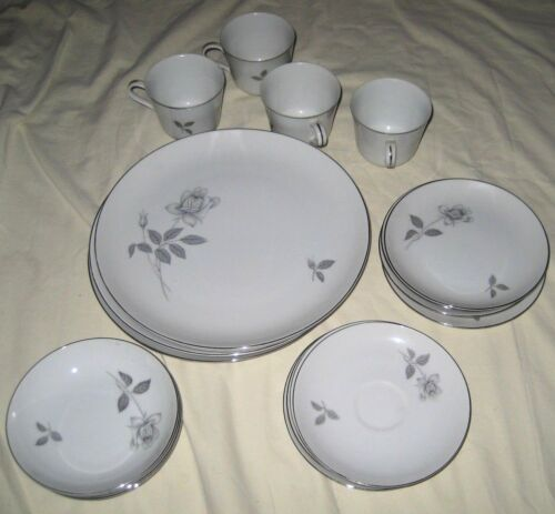 """Beautiful Queens Royal by Queens Royal China """"Japan"""" Set of 4    **√7838**"""