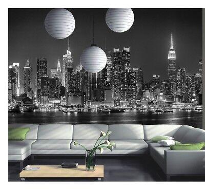 BROOKLYN BRIDGE MANHATTAN SKYSCRAPPERS NYC Photo Wallpaper Wall Mural 335x236cm