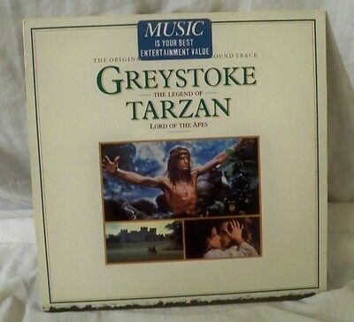greystoke legend of tarzan NM-/NM john scott christopher lambert beefcake LP