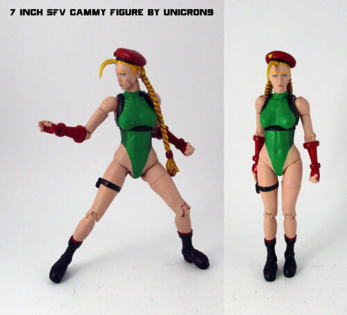 Street Fighter V CUSTOM Cammy 7 inch scale figure Neca Storm Collectibles