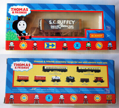 2005 THOMAS & FRIENDS S.C. RUFFEY WAGON FOR ELECTRIC TRAIN R9068 HORNBY NEW !