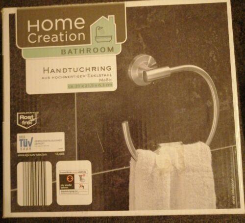 Home Creation  Handtuchring Handtuchhalter Länge ca. 70 cm Edelstahl Top