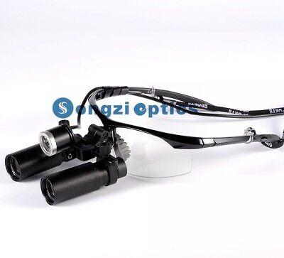 5x Sport Frame Kepler Binocular Surgical Loupes Dental Loupes With Led Headlight