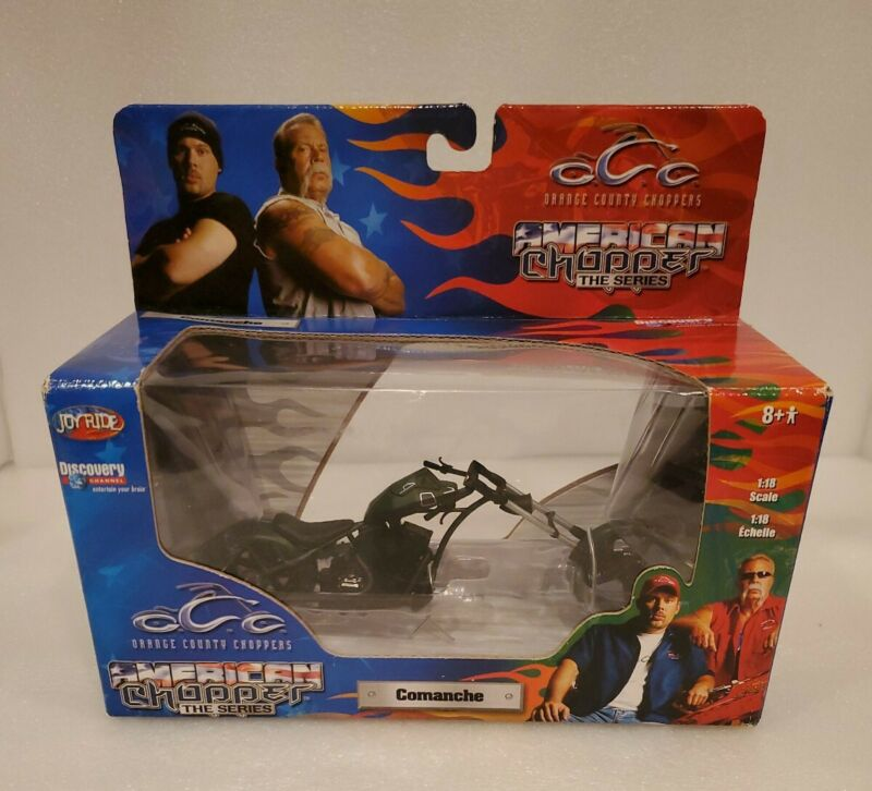 2004 Orange County Choppers  Series 1:18  Die Cast Motorcycle COMANCHE
