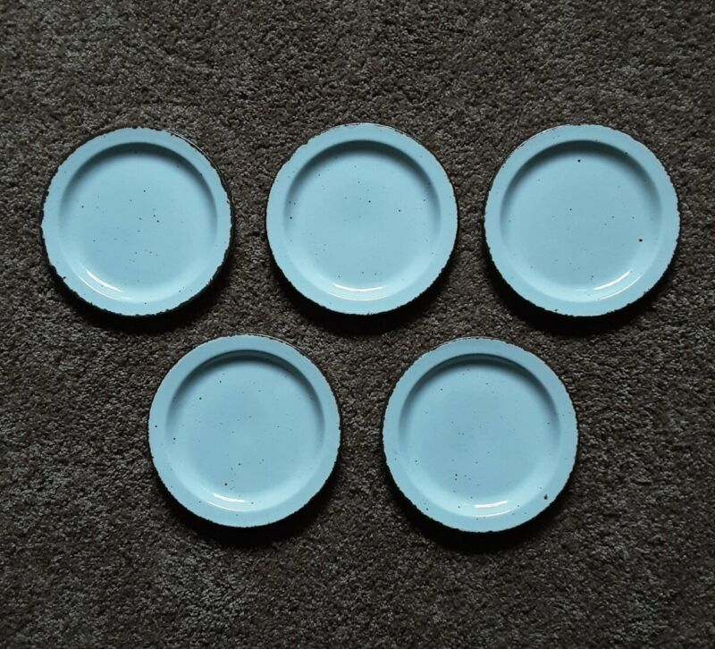 """(5) Stonehenge Midwinter CREATION  7"""" Salad Bread Plates Made In England"""