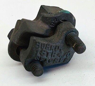 Burndy Qpx282c Versitap Copper Split Bolt Parallel Clamp Connector 40 - 1awg