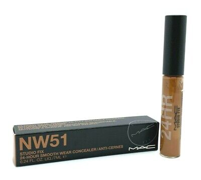 Mac Studio Fix Smooth Wear Concealer ~ NW51 ~ .24 oz BNIB, used for sale  Shipping to India