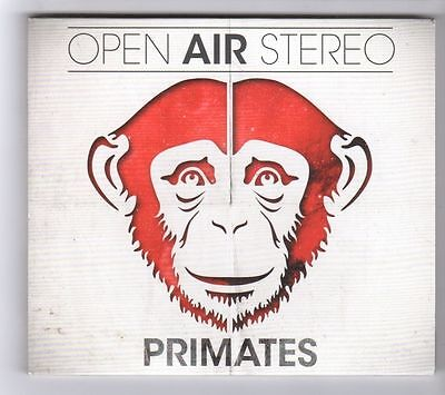 (GZ351) Primates, Open Air Stereo - 2013 CD (Open Air Stereo)