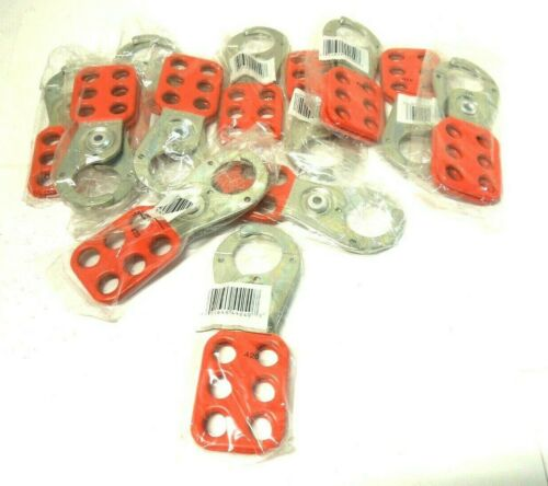 """Lock Out Hasp Master Lock 420 Jaw Clearance 1""""  Red, Alum ( box of 12)    <740B2"""