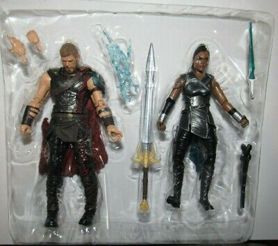 Marvel Legends figure lot Thor Valkyrie from 2 pack complete excellent 6
