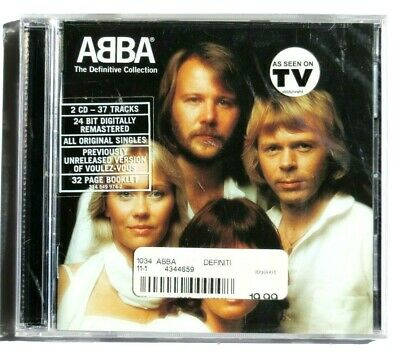 Abba: The Definitive Collection CD 2 Disc Set (UTV Records) Brand New