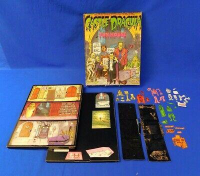 Vintage Colorforms Castle Dracula Monster Fun House Unpunched 1970's Vtg