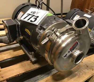 Waukesha 2065 Centrifugal Pump 2-12inlet X 2outlet 10hp With Stainless Feet