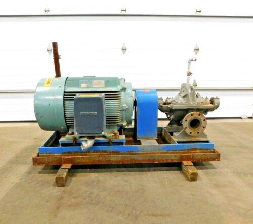 MO-4222, FLOWSERVE 4LR-11A/9.88 SF PUMP W/ 150 HP MOTOR. 575 V. 3 PH. 3575 RPM.