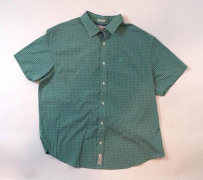 Classic Fit Button Front Size XL Mint Green Check Shirt (Penguin Mints)