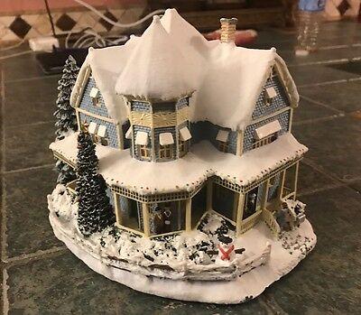 "Hawthorne Village Thomas Kinkade ""Holiday Bed And Breakfast"" House"