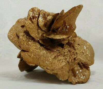 UNIQUE - RARE - VINTAGE Abstract Gold sculpture, could be used for a paperweight