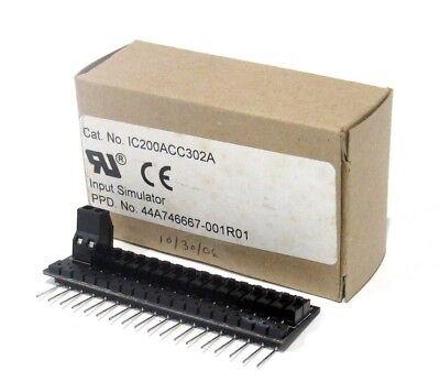 New Ge Fanuc Ic200acc302a Io Input Simulator Ic200acc302