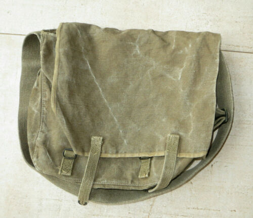 Food Bags Tta Model 50, French Army, Algeria, Dated 1956