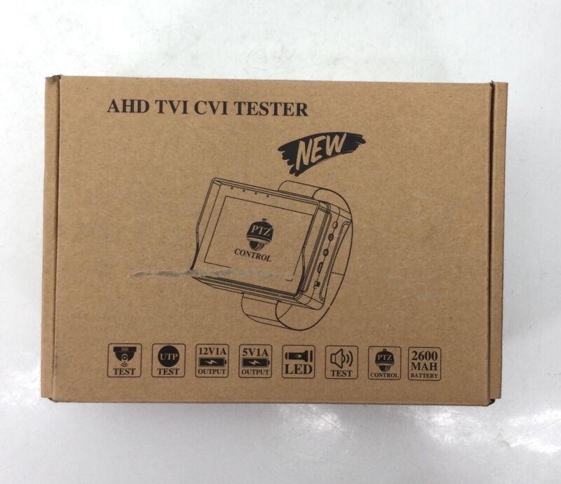 AHD Electop Wrist CCTV Tester, 5 Inch Portable Camera Tester