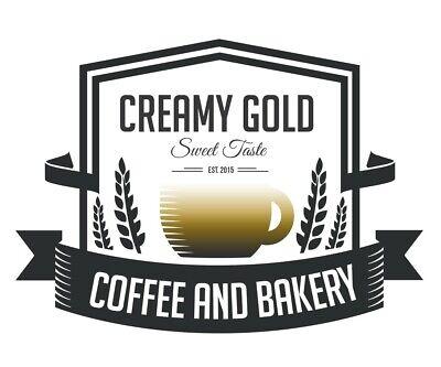 Domain Name Creamy Gold Coffee Brand Name