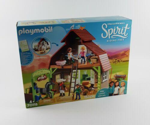 Playmobil 70118 DreamWorks Spirit Pferdestall mit Lucky