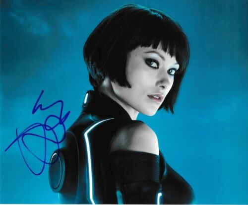 * OLIVIA WILDE * signed autographed 8x10 photo * TRON: LEGACY * COA * 1