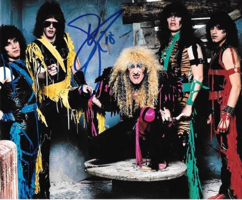 * DEE SNIDER * signed autographed 8x10 photo * TWISTED SISTER * PROOF *  3
