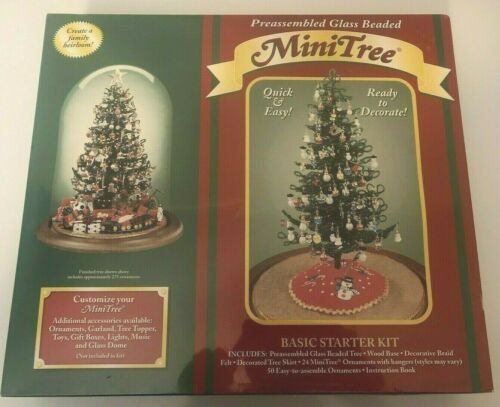 New Westrim Craft Christmas Preassembled Glass Bead Mini Tree Starter Kit SEALED