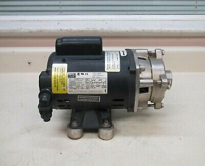 Dayton 4te60 115208-230v 7.2a 13hp Ss Stainless Steel Centrifugal Pump Used