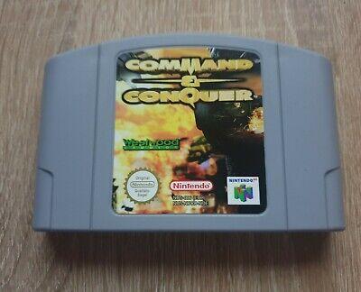Command & Conquer N64 Nintendo N 64 PAL Spiel