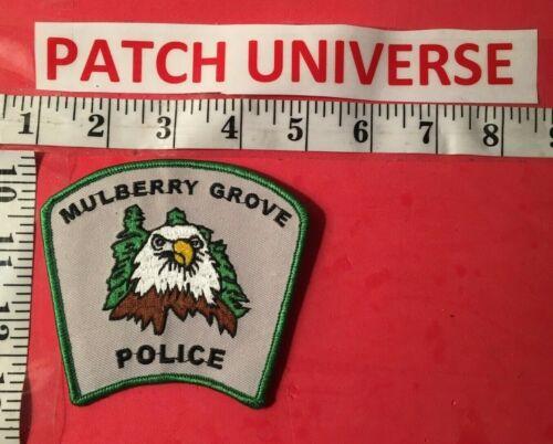 MULBERRY GROVE IL  SHOULDER PATCH   R117