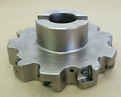 5 Seco Indexable Face Mill Cutter 1.25 Arbor R335.25-05.00-1.000-5na