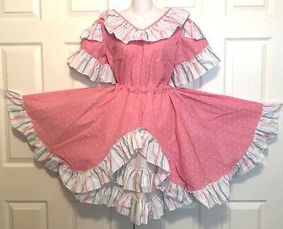 NEW SQUARE DANCE DRESS 2-PC,