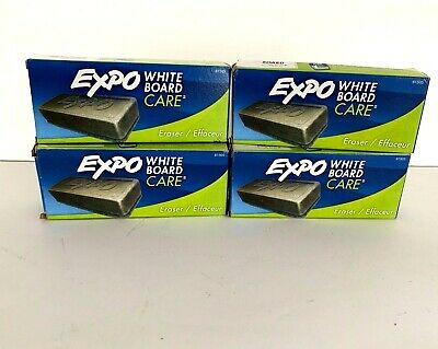 Expo 81505 Dry Erase Eraser - Set Of 4 Nib - White Board Care