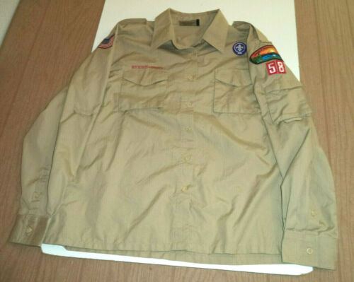 Mens  Boy Scouts of America Long Sleeve Shirt  Tennessee Council size L  BSA