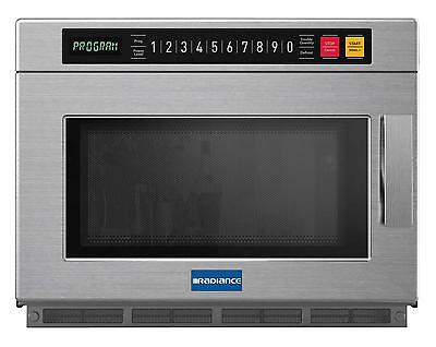 Radiance Tmw-1200hd Commercial 0.9 Cuft Programmable Microwave Oven Ss 1200w