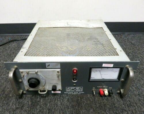 BEHLMAN 75-C AC POWER SUPPLY. 0-130V. 45-2000Hz