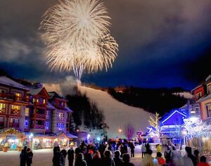 New Years at Blue Mountain, Ontario