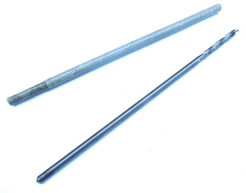 """New Long 1/4"""" Solid Carbide Drill Bit Aircraft Composite Tool"""