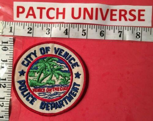 CITY OF VENICE  FLA  POLICE  SHOULDER  PATCH  Q067