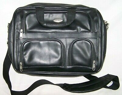 Samsonite Laptop Briefcase Case Computer Bag Black Shoulder Bags Business