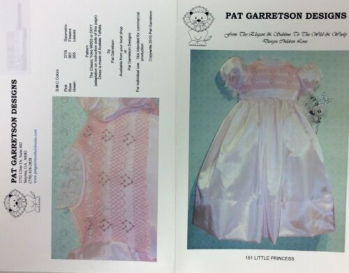 PAT GARRETSON SMOCKING PLATE #151 LITTLE PRINCESS