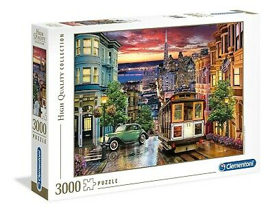 Clementoni 33547 San Francisco 3000 Teile Puzzle-High Quality Collection