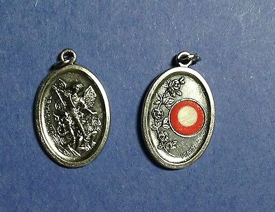 NEW RELIC medal ST MICHAEL THE ARCHANGEL PROTECTION AGAINST EVIL