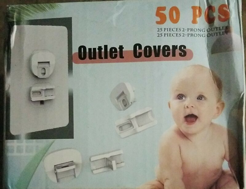 Babee Base Outlet Covers 50 Pcs