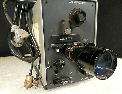 Gamma Scientific Model Ic 2000-sma Telephotometer W Lens Attachment Cables